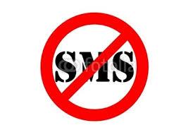 Le SMS ce n'est pas chic !